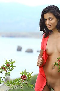 Sexy Indian naked in open