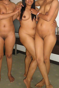 Indian girls posing naked on camera