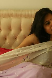 Indian Babe Kavya in indian sari gifted by her website member