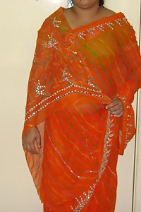 Indian Erotic Housewife Kamla Saree Stripped Nude
