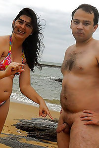 Indian couple on vacation getting naughty