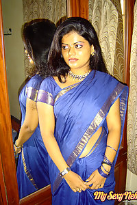 Indian Wife Neha Nair showing her big tits