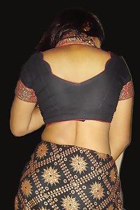 Porn Pics Sexy Indian Bhabhi Rani Saree Stripped Nude