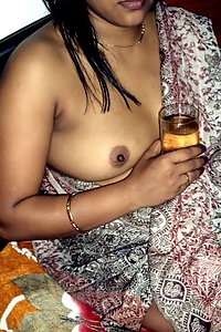 Indian wife in saree naked