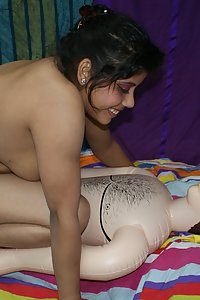 Indian Babe Rupali with her sex toy ramesh enjoying homemade fuck session