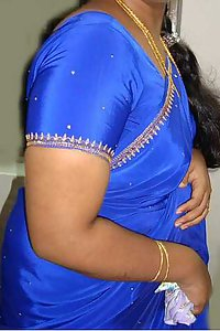 Porn Pics Indian Aunty Bano Blue Blouse Stripped Nude