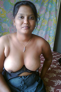 delicios big boob Indian wife laying naked in bedroom