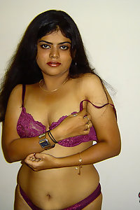 Indian Wife Neha in her favorite lingerie showing off