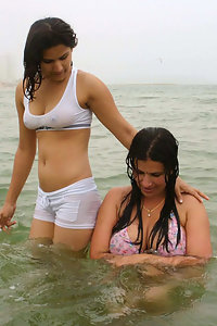 Porn Pics These Indian Girls Enjoying Nude On Beach